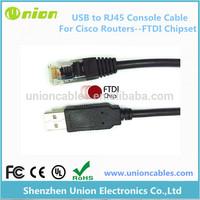 FTDI 6 feet USB to RJ45 fit for Cisco Console Cable Windows 8 7 Vista MAC Linux