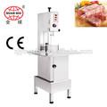 comercial máquina cortadora de la banda de carne, precio de la sierra de huesos con carne