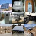 Bluesun fácil instalado planta 20kw sullivan de la energía solar