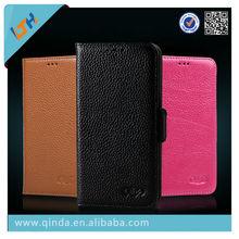 high quality fashion mercury genuine flip leather case for samsung galaxy grand 2 G7106 wallet case
