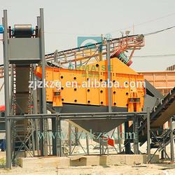 Building Material Sand Screen for Sale, Concrete Vibration Machine, Linear Vibrating Screen