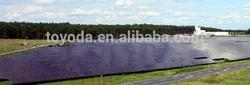 3.7MW amorphous silicon thin film pv solar panel