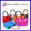 2015 hot sell fashion ladies promotion silicone bag