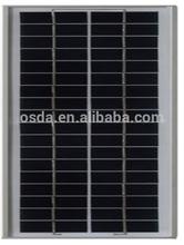 small size poly solar module 5w