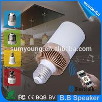 Christmas gift BB speaker led lamp with audio speaker
