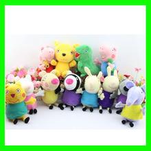 Peppa pig Plush Doll Toy Peppa teddy Bear Geroge Dinosaur Peppa pig family peppa pig friends