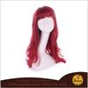sexy lady coloured wigs synthetic 100% kanekalon synthetic wigs long synthetic hair wig
