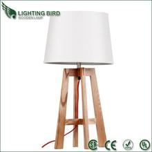 zhongshang Alibaba Hotel Decorative Energy Saving Wood Table/Desk Lamps