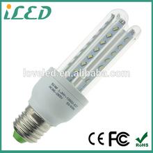 U shape warmest led light bulb B22 E14 E27 SMD3014 led 5W for indoor housing