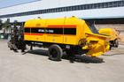 China best portable concrete delivery pump diesel concrete mixer