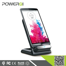 Shenzhen Powerqi 2015 newest arrival wireless charging stand,Qi wireless charger with 3 coils