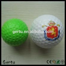 promotional pu foam golf anti stress ball