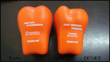 promotional pu foam tooth anti stress toy