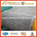 Impreso ppgi/ppgl/sustrato es hdgi, grado sgcc/dx51d/q23 5. mármol/veta de la madera/grano de ladrillo