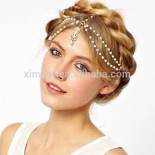 Elegant pearl hair band,Girls hair accessories