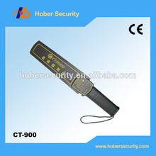 CT-900 Hand Held Metal Detector,full body metal detectors hand held metal detector with vibration and flash at cheap price