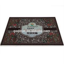 High quality anti-slip New design modern rubber door mat,12 years experience