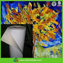 hot sales vivid image sense matt solvent fabric oil canvas for inkjet printing