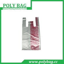 Recycling Environment friendly Plastic Carrier T Shirt Bags