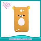 Popular cute bear silicone mobile phone case