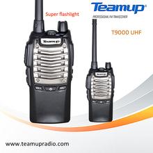 Teamup T9000 Handheld UHF two way radio walkie talkie