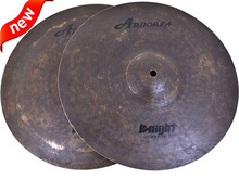 "Drumset Cymbal Knight Serial 13"" HIHAT Cymbals For Sale"