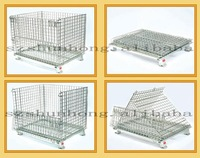 lockable underground warehouse metal storage cage containers