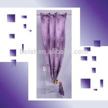100% Polyester jacquard yarn dye woven blackout window curtain