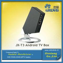 Bulit In Wifi Skype Facebook Internet Google Play Android 4.4.2 TV Box Full HD 1080P