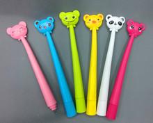 Cute Creative Animal Style Ballpoint pen Flexible Pen for School
