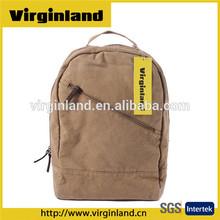 2015 Hot Selling Custom Printing Canvas Backpack School Bag for School Students Book Bag
