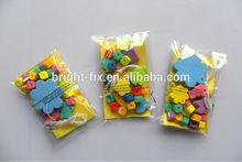 kids educational toys/children handcraft foam beads rope /fashion EVA foam beads and stickers