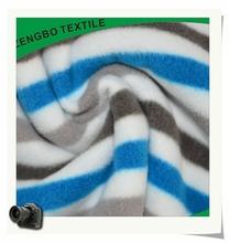 stripe polar fleece,printed polar fleece,polar fleece fabric
