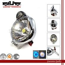BJ-HL-009 Ultra bright off road 27 LED headlight motorcycle chrome for chopper cruiser