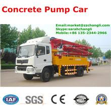 JH5025 25m DONGFENG Concrete Pump Car with Japanese Kawasaki Main Oil Pump, Small Concrete Pump Car for Sale