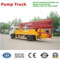 jh5025 25m mini caminhão montado bomba de concreto com controle remoto