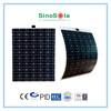 semi-flexible solar panel 120w TUV/PID/IEC/CEC/CE(3W-315W)/ISO certificates