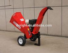 15HP petrol power ,lifan brand engine wood chipper machine