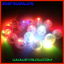 round shape color changing balloon light led