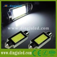 12V 24V New Canbus No Error Free C5W COB Led Festoon Lamps Auto Led Reading lamps canbus light cob led work light