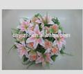 Bush de casamento buquê de flores, folhas artificiais. Yzt1-1176