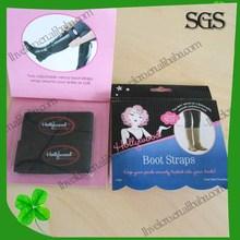 Shenzhen customize high quality velcro elastic boot straps