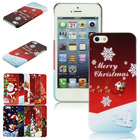 2014 High Quality Christmas Pattern Back Cover Case for Apple iPhone 5G 5S