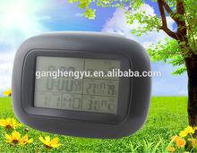 Mini portable table fashion RCC weather station forecast alarm clock