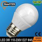 new zhong shan ce rohs cheap glass led lamp ceramic bulb