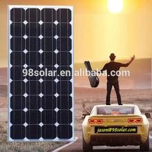 High quality 100W aluminum profile for solar panel