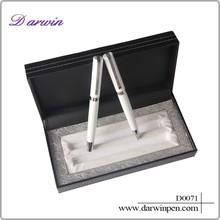 Wholesale luxury souvenir metal gift pen set for VIP client