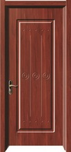 Swing Open Style and Single Internal PVC Door Design PVC-6125