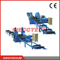 High Frequency Used Flange Straightener Machine for H Channel Steel