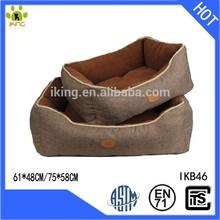 Luxury sofa shape pet dog bed wholesale